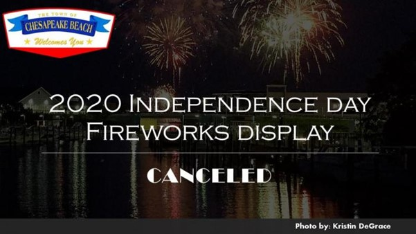 2020 4TH OFJULY FIREWORKS CANCELLED