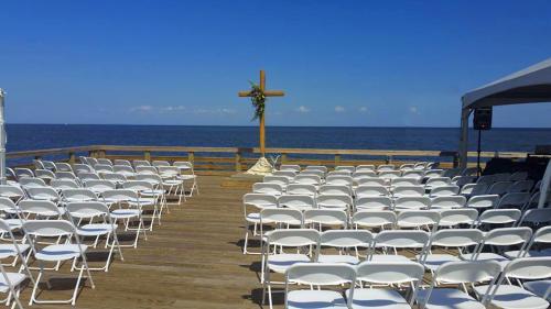 North Beach Pier Wedding