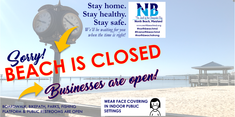 beach is closed